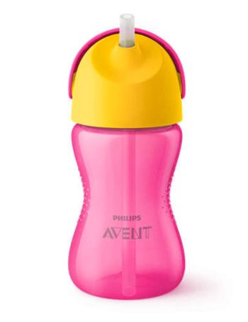 Philips Avent Rietjesbeker Roze 300 ml
