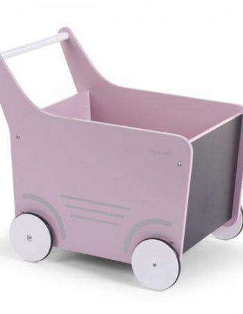 Childhome Houten Wandelwagen Roze