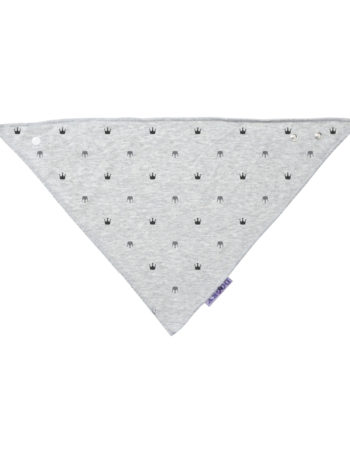 Dooky Crowns Dribble Bandana Slab Light Grey