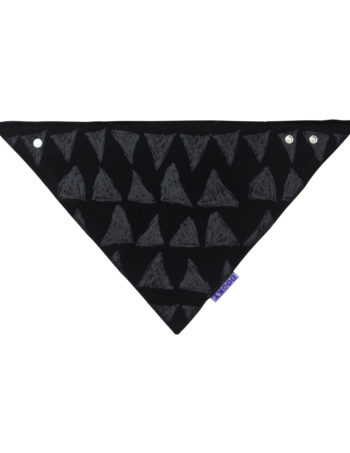 Dooky Tribal Dribble Bandana Slab Black