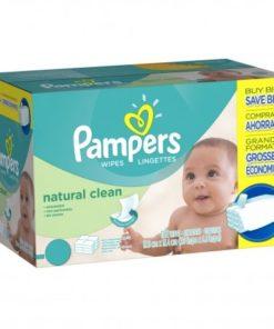 Pampers Natural Clean Billendoekjes - 768 babydoekjes