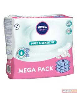 Nivea Pure&Sensitive Billendoekjes - 12 x 63 babydoekjes
