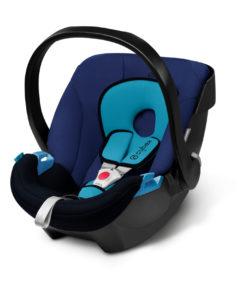Cybex Aton Baby Autostoeltje Blue Moon