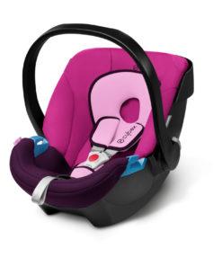 Cybex Aton Baby Autostoeltje Purple Rain