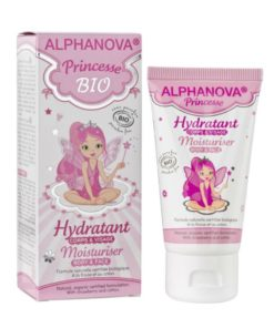 Alphanova Kids - Princess Biologische hydraterende Body Creme - 50ml