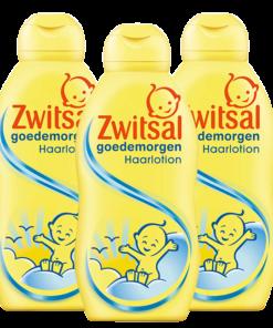 Zwitsal Baby - Haarlotion Goedemorgen - 3 x 200ml - Voordeelverpakking