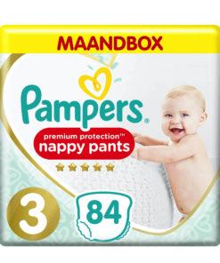 Pampers - Premium Protection Pants - Maat 3 - Maandbox - 84 luierbroekjes