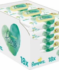 Pampers - Pure Coconut Babydoekjes - 756 Billendoekjes